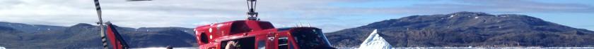 Helikoptor i Qaqortoq